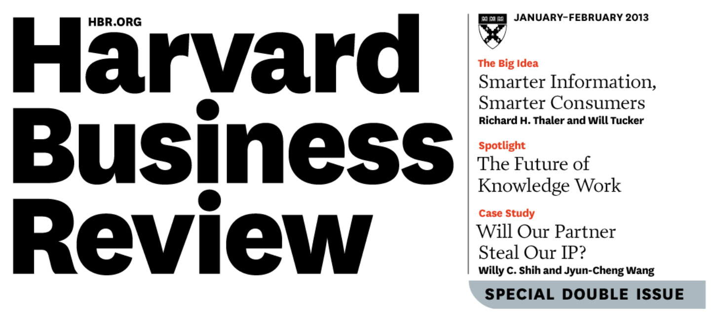 Added value: How Harvard Business Review thinks it can add