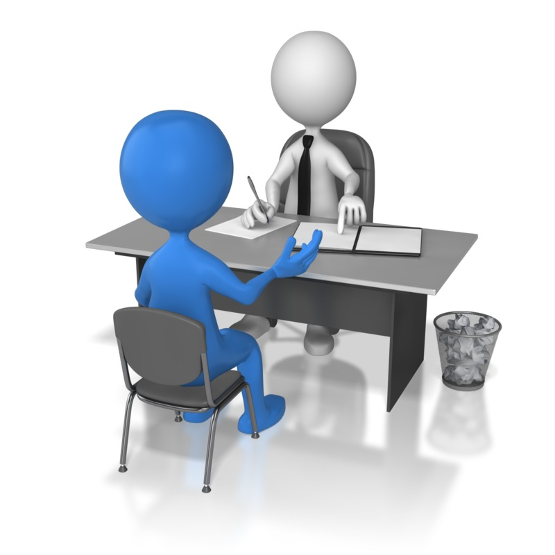 Structured Interview Clipart